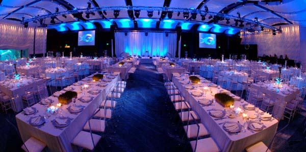 Georgia Aquarium Wedding Ballroom