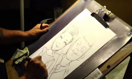 VIDEO: Wedding Caricature Artist – Great Idea!