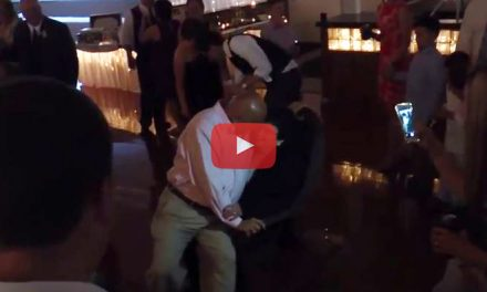VIDEO: A Sweet Wedding Dance For Grandma's Birthday!