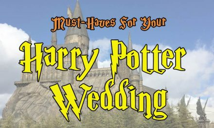 Must Haves For Your Harry Potter Wedding