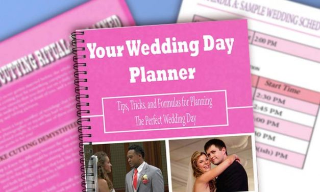 This Is What You Need To Schedule Your Wedding Day!