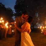 VIDEO: Sparklers At Sunset